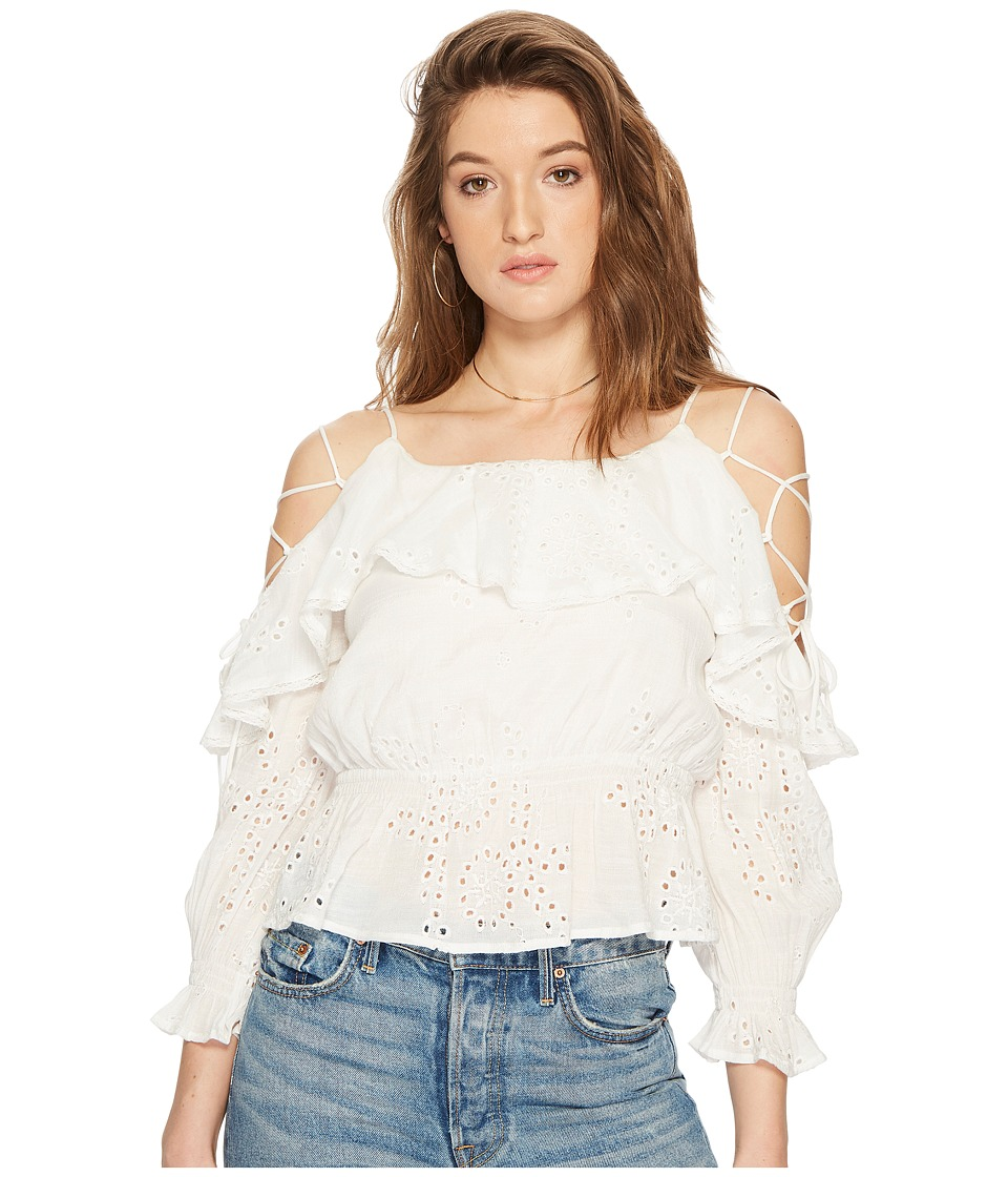 ASTR the Label - Kennedy Top (White) Womens Clothing