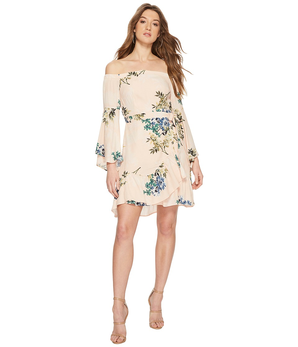 ASTR the Label - Ophelia Dress (Blush Multi Floral) Womens Dress