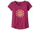 Life is Good Kids Here Comes The Sun Smiling Smooth Tee (Little Kids/Big Kids)