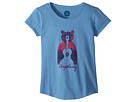 Life is Good Kids Unplug Bear Smiling Smooth Tee (Little Kids/Big Kids)