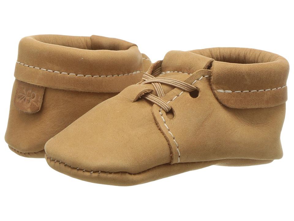 Freshly Picked - Soft Sole Oxfords (Infant/Toddler) (Cedar) Kid's Shoes
