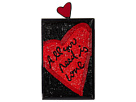Alice + Olivia Alice + Olivia Sophia All You Need Is Love North/South Clutch