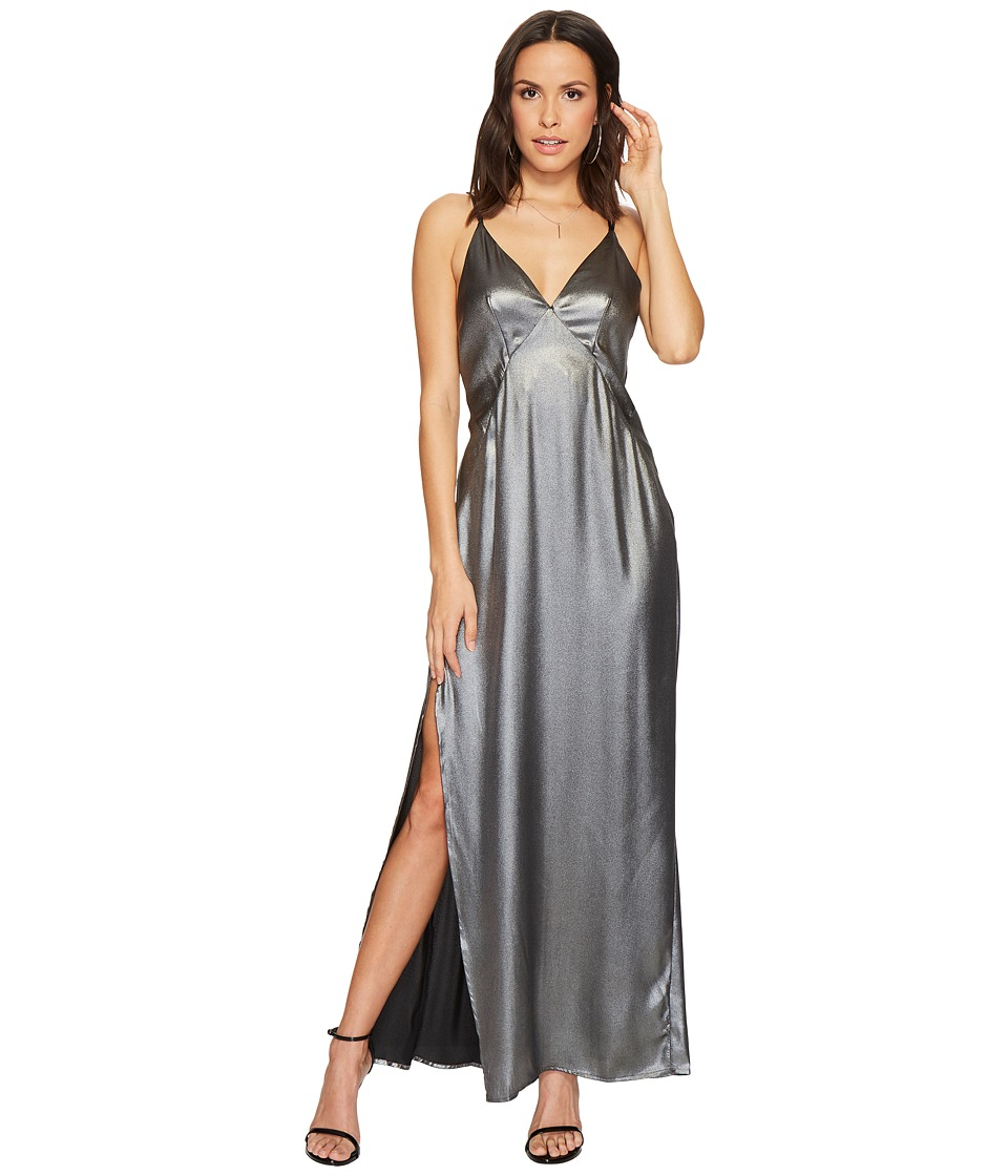 ASTR the Label - Raven Dress (Gunmetal) Womens Dress