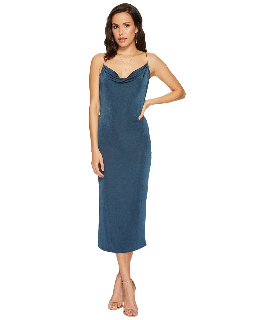 ASTR the Label - Ivana Dress (Teal) Womens Dress