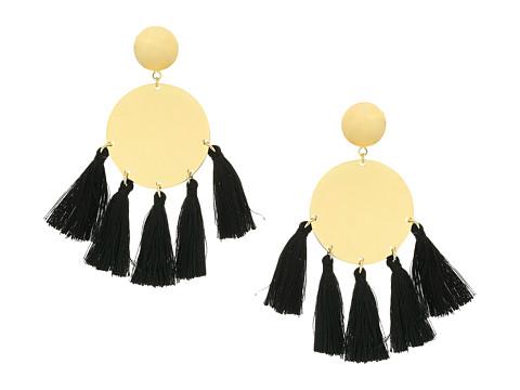 SHASHI Jamie Tassel Earrings - Gold/Vermeil