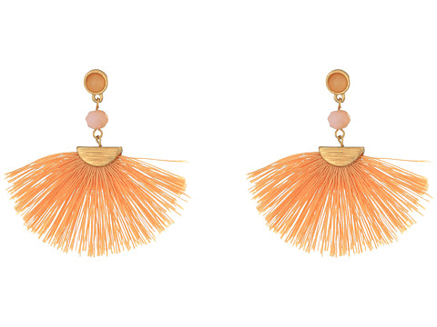 SHASHI Mia Tassel Earrings - Pink