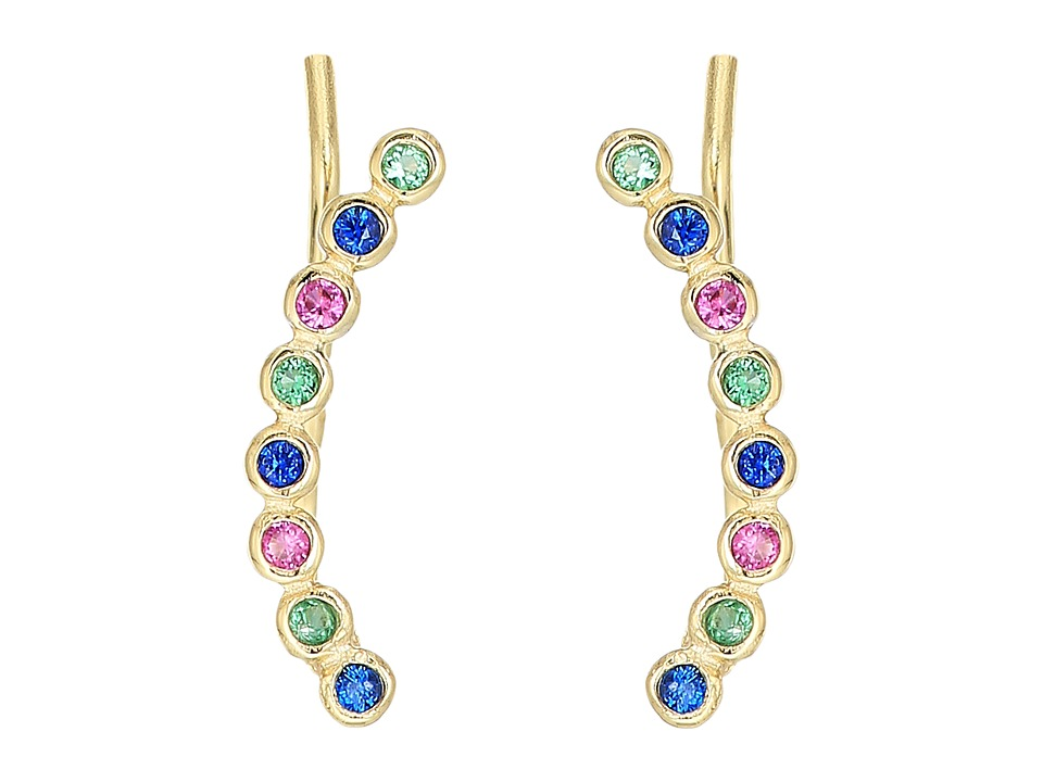 SHASHI - Noa Climber Earrings (Multi) Earring