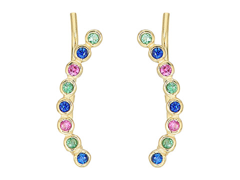 SHASHI Noa Climber Earrings - Multi