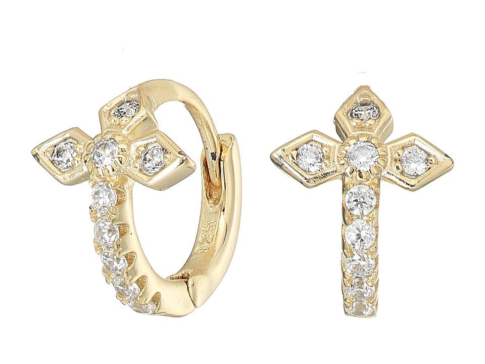 SHASHI - Gia Huggie Earrings (Gold/Vermeil) Earring
