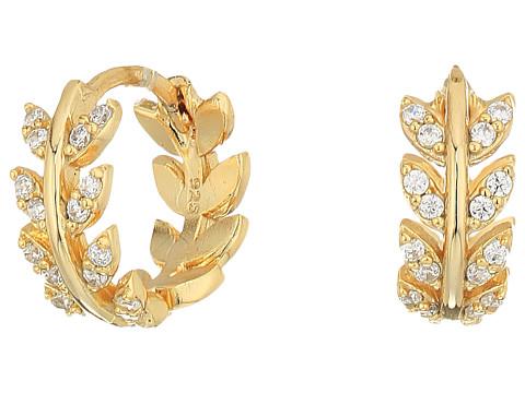 SHASHI Amelia Huggie Earrings - Gold/Vermeil
