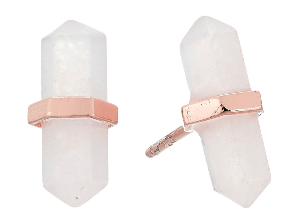 SHASHI - Celeste Stud Earrings (Rose) Earring