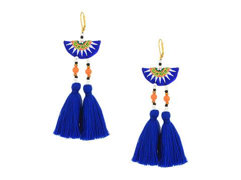 SHASHI Camilla Earrings - Blue