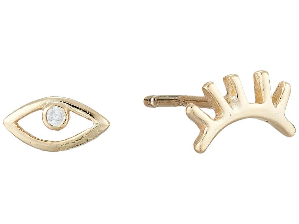 SHASHI - Madison Stud Earrings (Gold/Vermeil) Earring