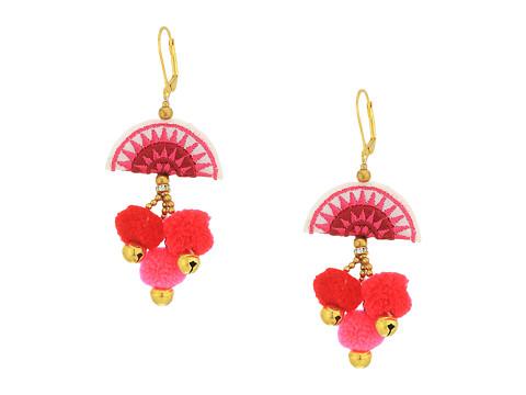 SHASHI Zoe Earrings - Pink
