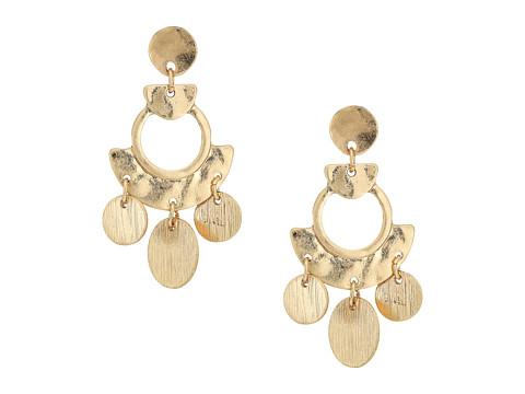 SHASHI April Statement Earrings - Gold/Vermeil