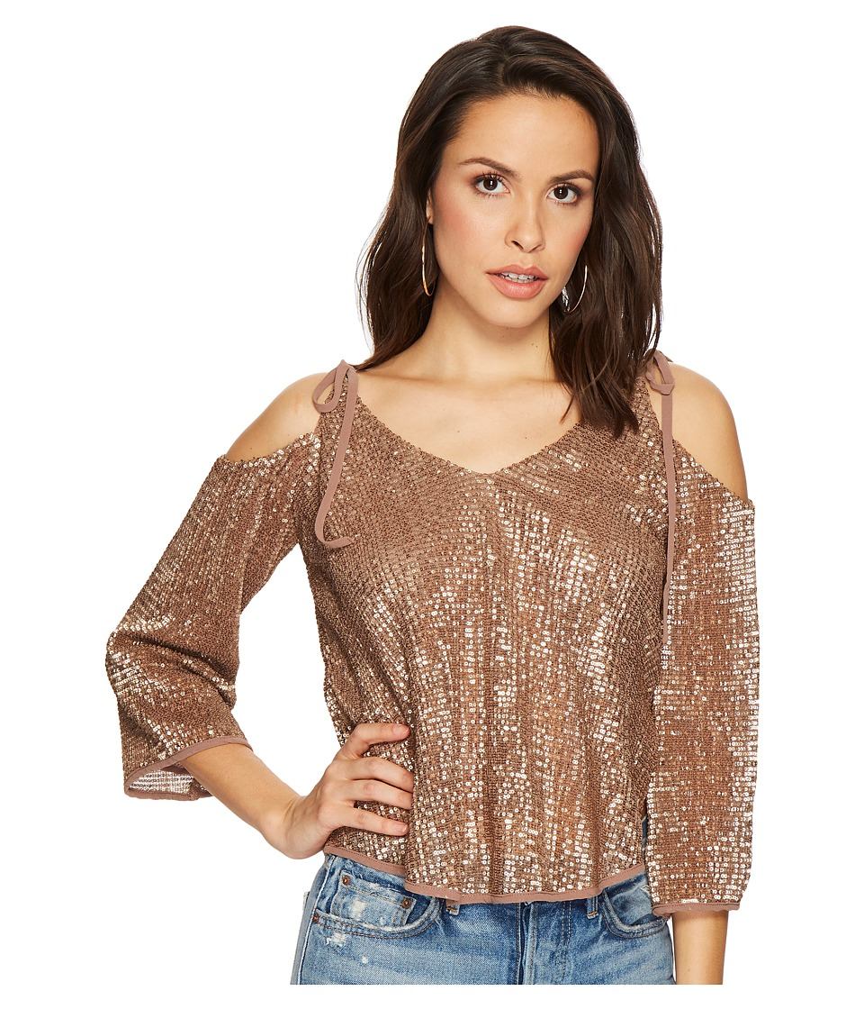 ASTR the Label - Adison Top (Bronze) Womens Clothing