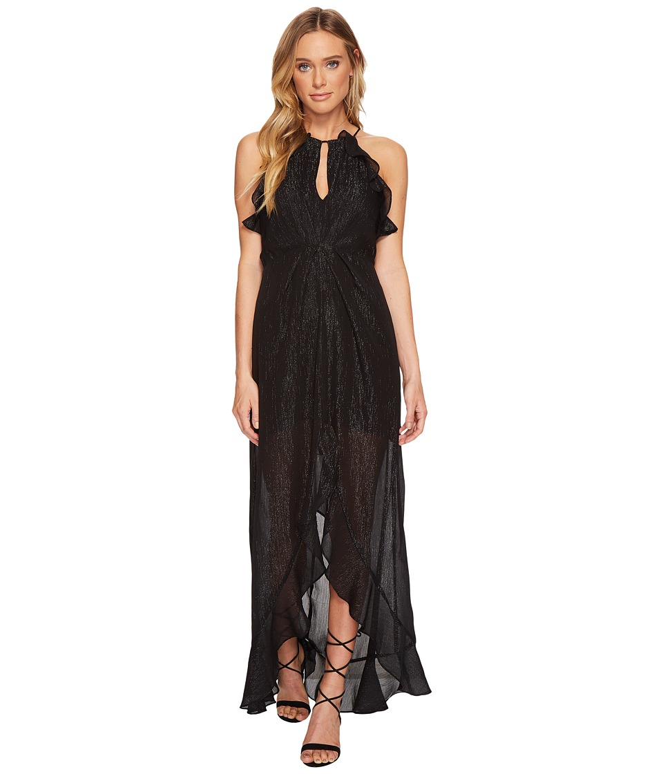 ASTR the Label Arielle Dress (Black Shimmer) Women