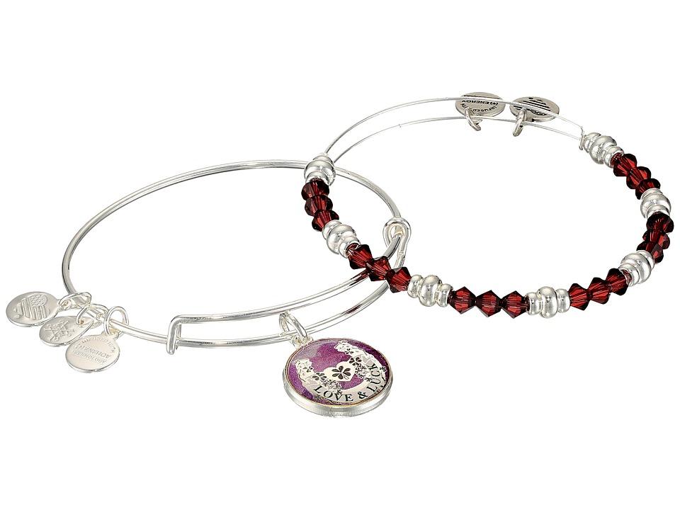 Alex and Ani - Art Infusion Bracelet Set, Fortune's Favor