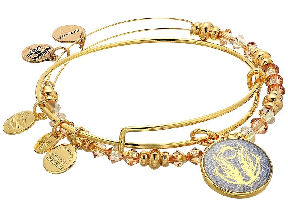 Alex and Ani - Art Infusion Bracelet Set, Godspeed (Shiny Gold) Bracelet
