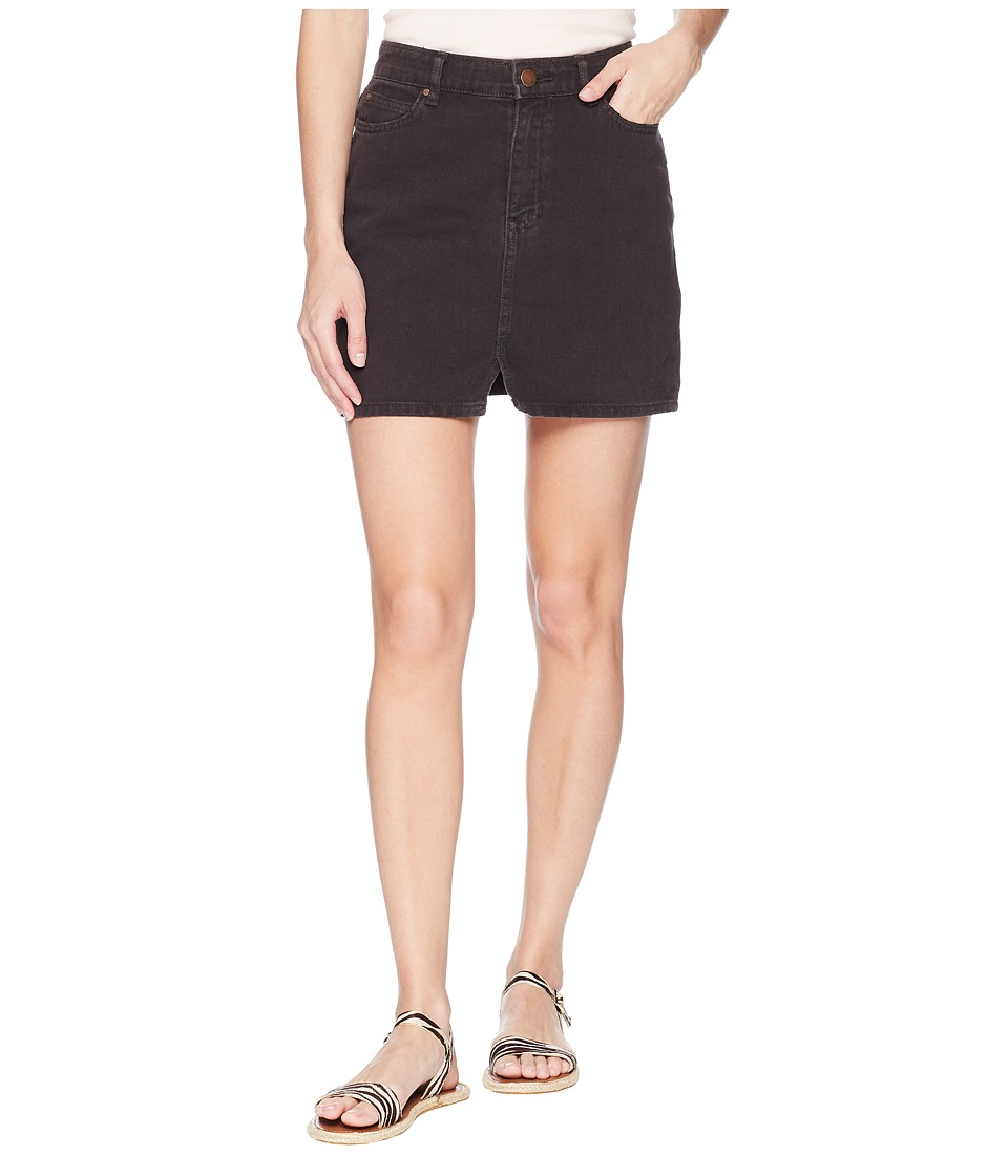 Billabong Black Magic Skirt (Black Pebble) Women