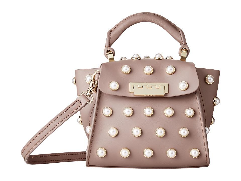 ZAC Zac Posen - Eartha Iconic Novelty Top-Handle Mini - Pearl Lady (Stone) Top-handle Handbags
