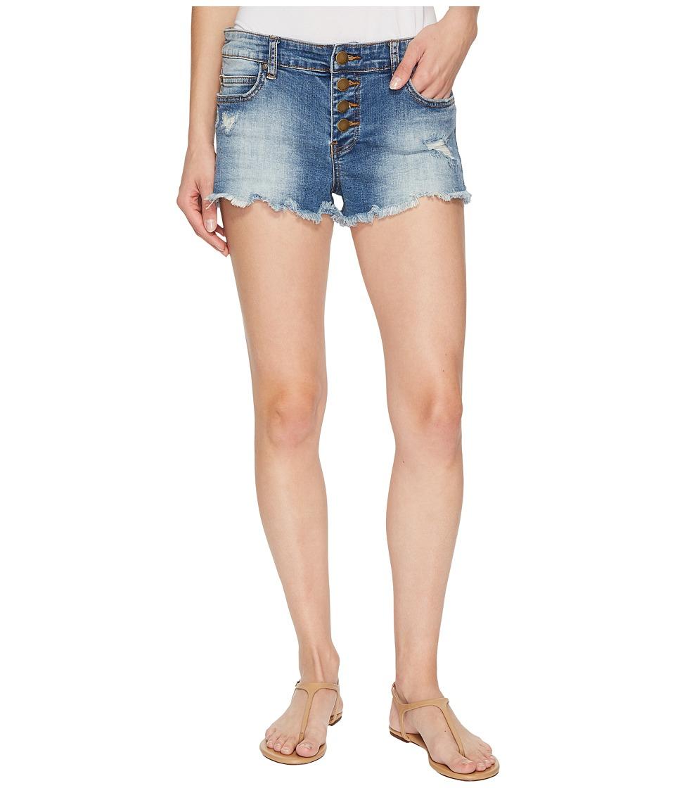 Billabong Buttoned Up Shorts (Beach Blue) Women's Shorts