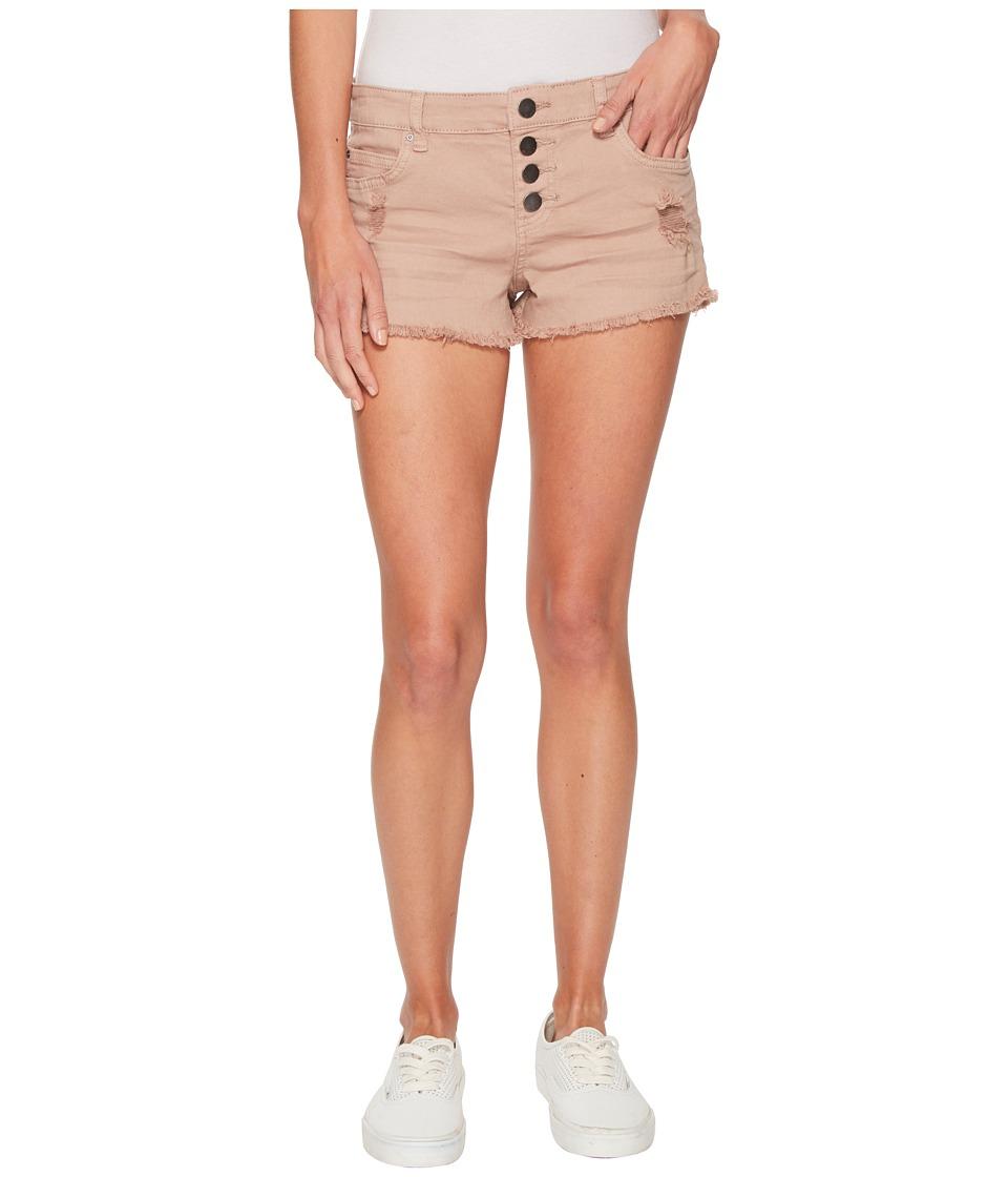 Billabong Buttoned Up Shorts (Stone) Women's Shorts
