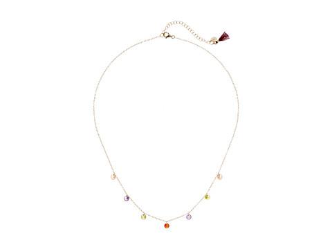 SHASHI Millie Multicolor Neckace - Gold/Vermeil/Multicolored Stones