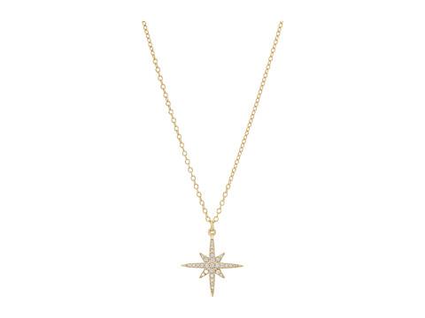 SHASHI Lacey Pendant Necklace - Gold/Vermeil