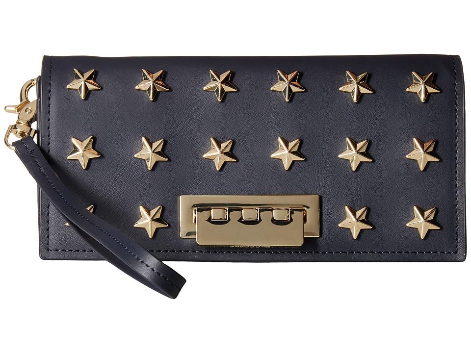 ZAC Zac Posen - Eartha Iconic Wristlet - Star Stud (Navy) Wristlet Handbags