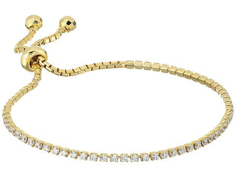 SHASHI Tennis Slide Bracelet - Gold/Vermeil