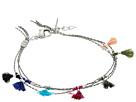 SHASHI Olivia Multi Row Tassel Bracelet