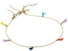 SHASHI Lilu Chain Tassel Bracelet