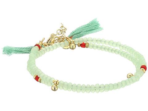 SHASHI Eliza Wrap Bracelet - Mint