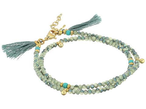 SHASHI Eliza Wrap Bracelet - Slate