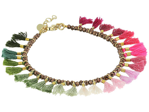 SHASHI Jamie Ombre Bracelet - Pink/Green Ombre