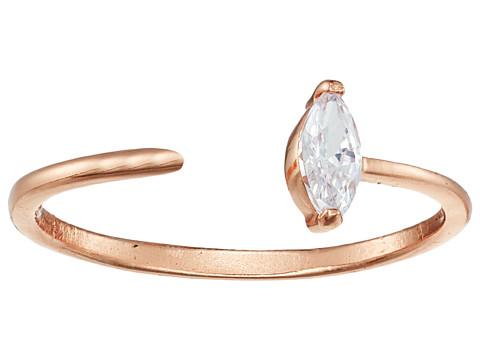 SHASHI Jewel Ring - Rose Gold