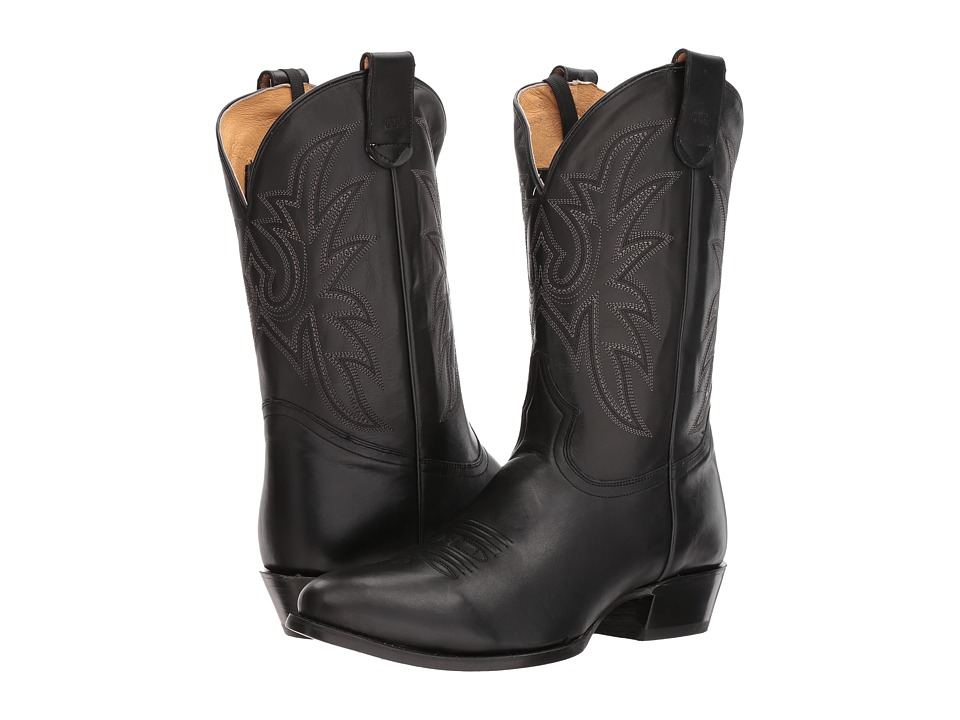 Roper Score (Black Leather Vamp) Cowboy Boots