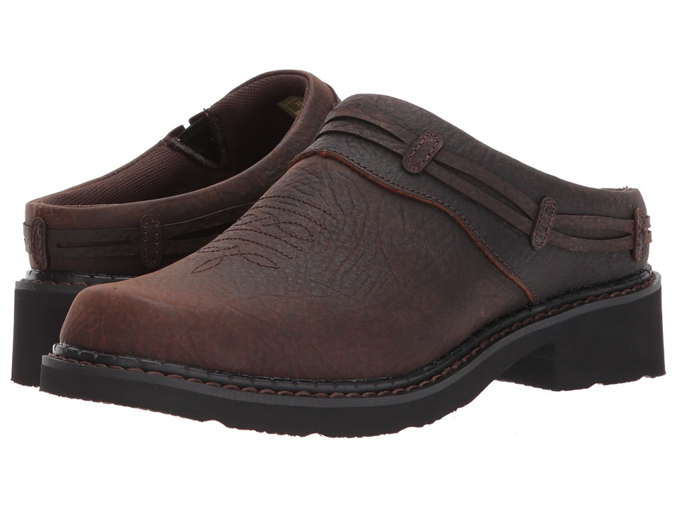Roper - Jane (Brown Tumbled Leather) Womens  Shoes