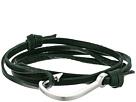 Miansai Miansai Hook on Leather Bracelet
