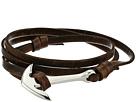 Miansai Anchor On Leather Bracelet