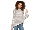 kensie Space Dye Punk Yarn Sweater KSDK5673
