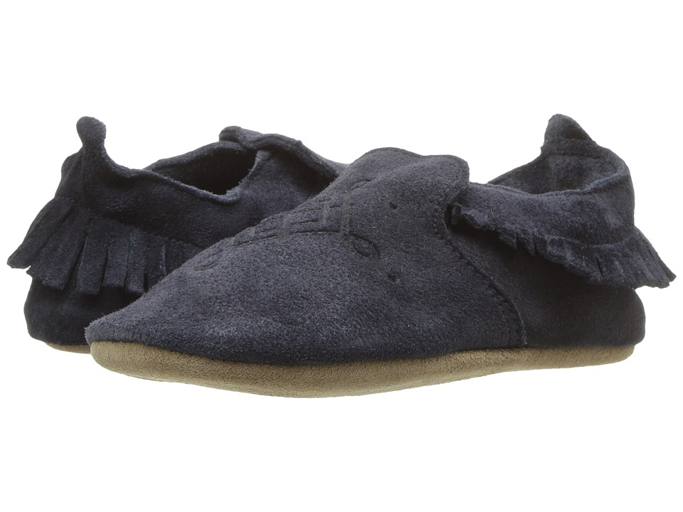 Bobux Kids - Soft Sole Moccasin (Infant) (Navy) Kids Shoes