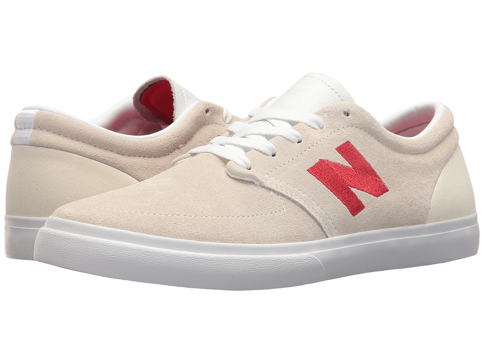 New Balance Numeric - NM345 (White/Red) Mens Skate Shoes