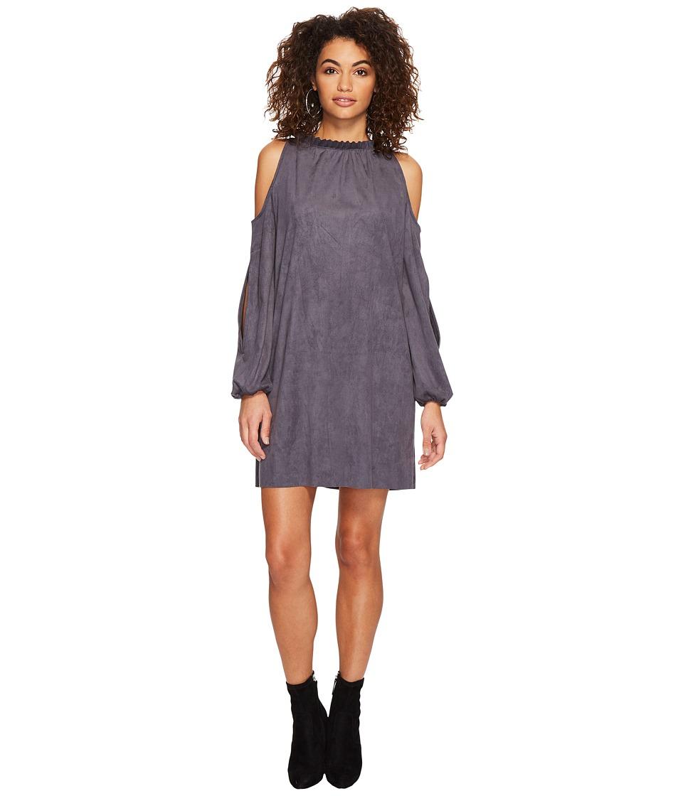 kensie Stretch Suede Dress KSDK8108 (Lead) Women