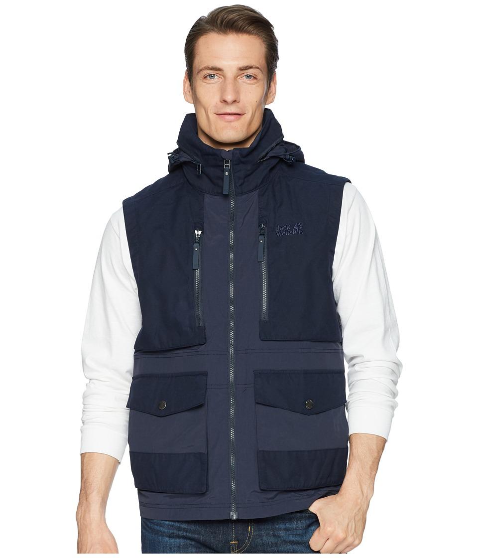 Jack Wolfskin Barstow Vest (Night Blue) Men