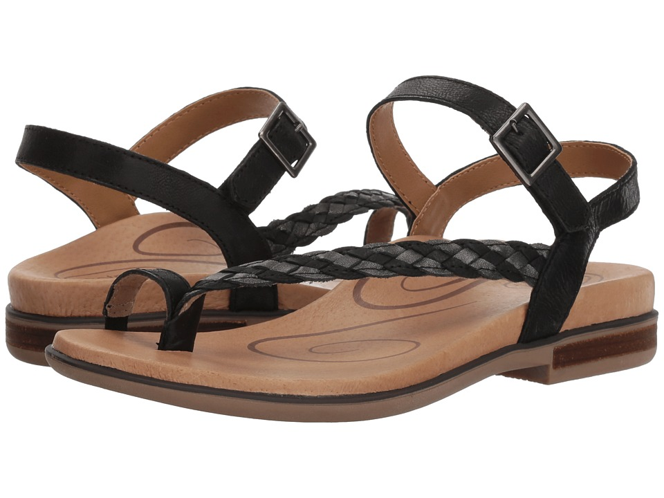 Aetrex Evie (Black) Sandals