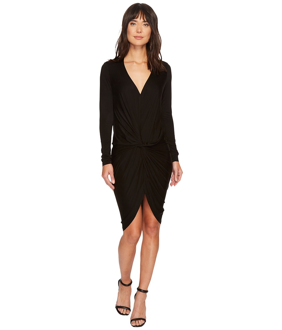 Young Fabulous & Broke - Adele Dress (Solid Black) Womens Dress