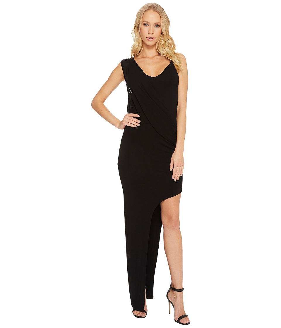 Young Fabulous & Broke - Leighton Maxi (Solid Black) Womens Dress