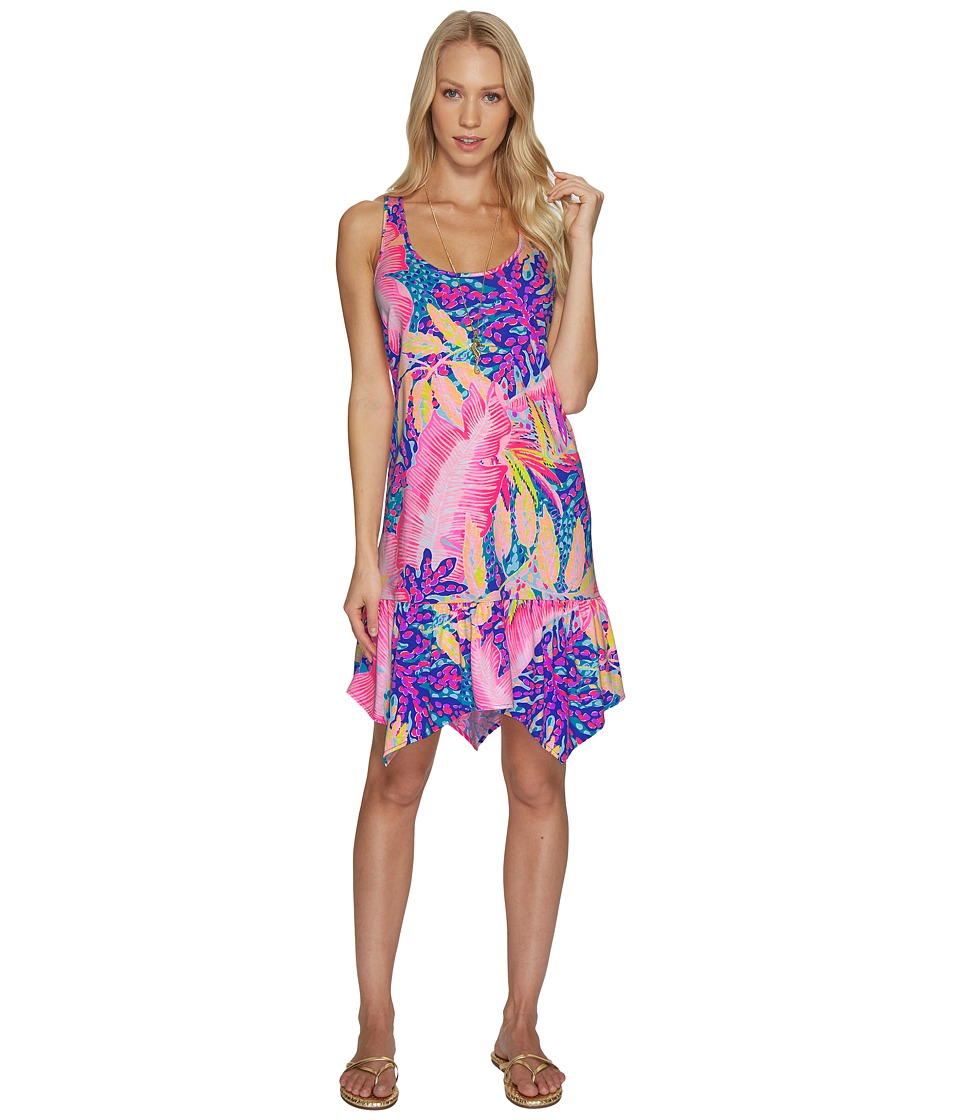 Lilly Pulitzer Hampton Dress (Multi Off The Grid) Women